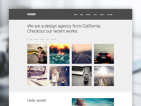 Isomer WP theme
