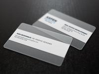 Modern, Sleek, Corporate Business Cards   Aspen Heights Partners