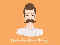 Experimenting with Facial Hair Guy   Concord Apartments