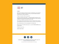 Golden Gate Health   Modern Email Template Design