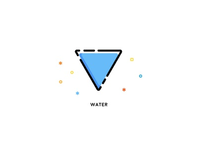 Element Icons Water vector elementals elements cool water illustration icons icon