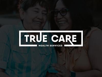 True Care Health Services Rebrand | Hospice Typographic Logo lettering logos modern identity branding hospital hospice typography rebrand logo logotype design logotype
