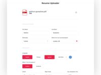 Resume Uploader
