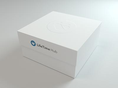 Package LifeTime Hub box 3d blender verpackung package packaging