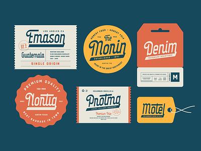 Parten Typeface packagedesign beer branding beer label motel beer lettering branding creative retro label vintage typeface typography logotype surotype
