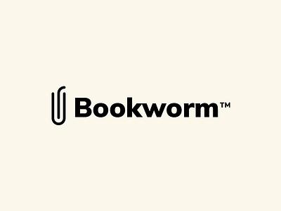 Bookworm Logo worm logo design book bookworm logo bookworm 30 logos thirty logos
