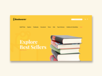 Bookworm Web Mockup