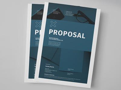 Minimal Design Proposal proposal template cover design minimal guide egotype quote portfolio creative scope agreement