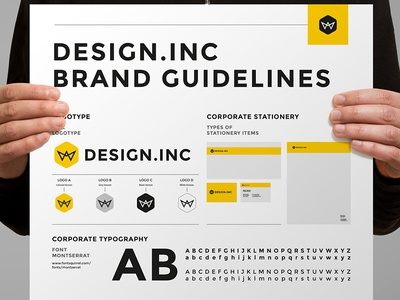 Brand Manual  agency brand brand guide brandbook corporate identity egotype guide guidelines identity manual minimal print