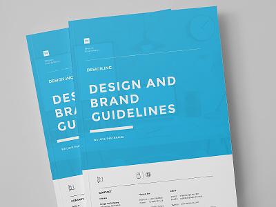 Brand Manual print minimal manual identity guidelines guide egotype corporate identity brandbook brand guide brand agency