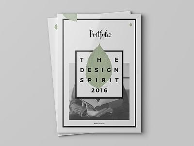 Design Portfolio portfolio menu gallery orange website web minimal clean flat