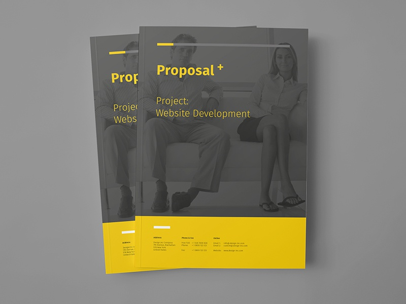 Proposal Design By Egotype Design Dribbble Dribbble