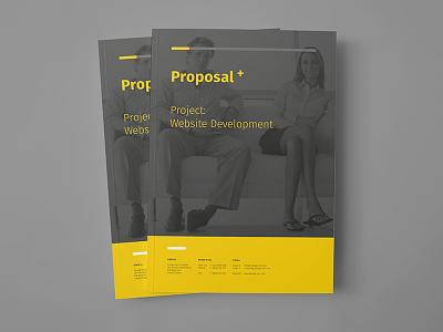 Proposal Design identity corporate sponsorship sponseasy proposal modern minimal clean template landing design business