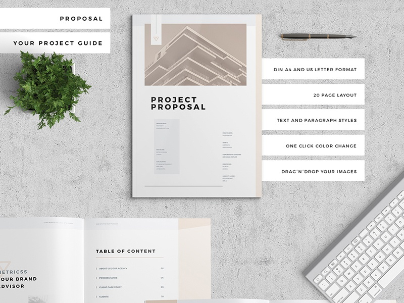 Proposal Pitch Pack by Egotype Design on Dribbble