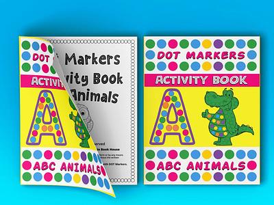 Dot Marker  Alphabet and Animals icon typography vector logo branding ui illustration design graphic design
