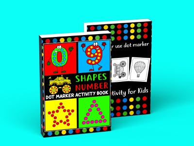 Dot marker Activity Book For Kids