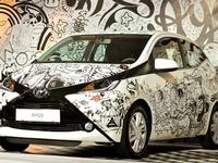 Toyota Aygo doodles