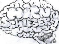 """""""Hirnschieber"""" - first sketch"""