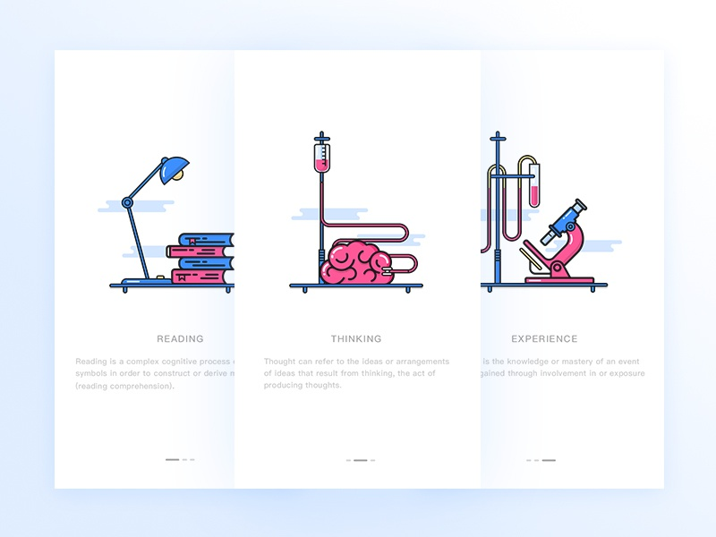 Landing Page lamp brain classic science guide page landing page