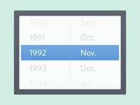 Customized Date Picker