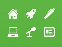 Category icons two sizes