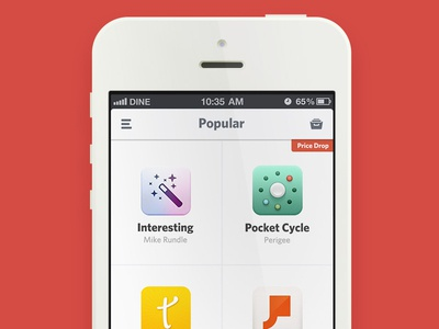 App Grid View