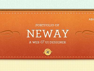 My Portfolio Redesign Go Live! portfolio redesign wooden