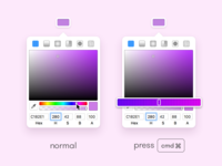 Enhanced Hue Slider For Sketch