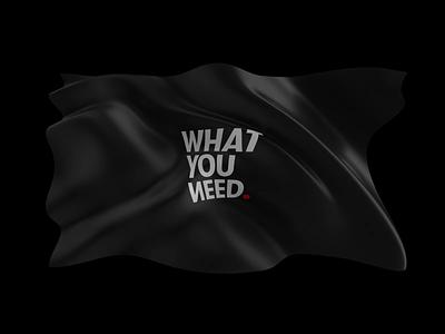 WhatYouNeed illustration branding webdesign casestudy octane c4d render 3d