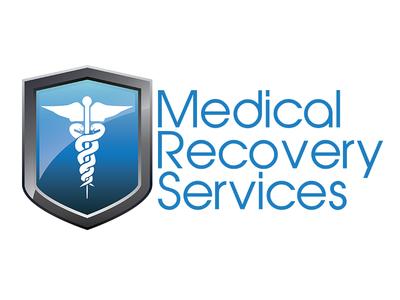 Shield and Caduceus medical logo branding shield caduceus