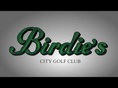 Golf Club Logo typography logo golf