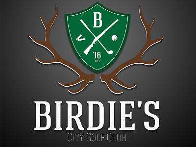 Golf Club Round 2 golf outdoors identity branding