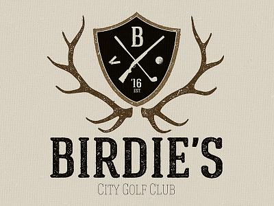Golf Club Logo Stamp  branding golf logo