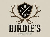 Golf Club Logo Stamp