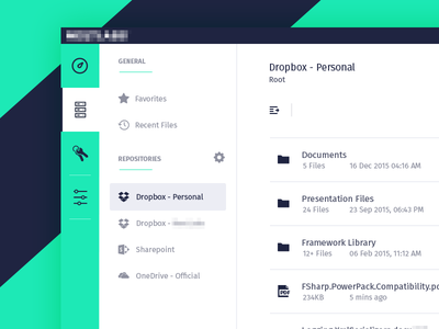 Repository Management - UX