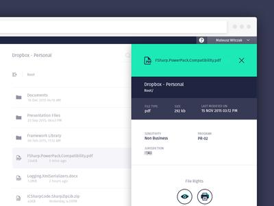 File properties + Meta Info