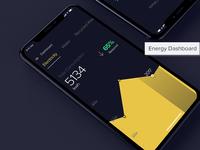 Energy Dashboard - iPhone App