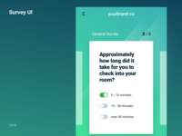 Survey UI