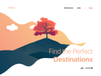 Landing page concept - Day 003