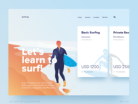 Learn to surf - Sports - Day 012