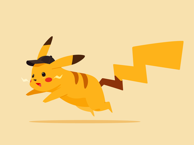Pikachu pikachu pokemon art vector illustrator design illustration