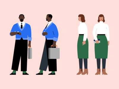 Uber Character Design