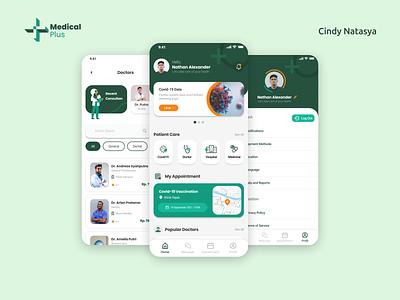 Medical Plus - Medical Apps consultation doctor health medical mobile design apps ui