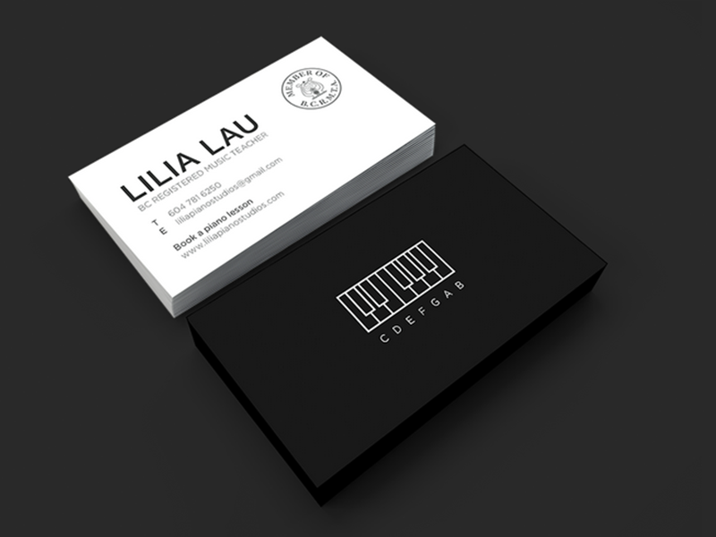 Business card design by meichi ng dribbble colourmoves