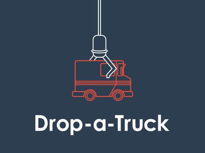 Logo & App Design For Drop-a-Truck