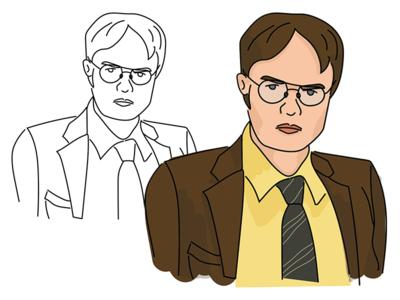 Dwight Illustration