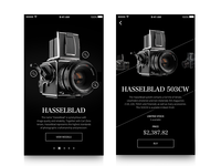 Hasselblad Camera Mobile Screens