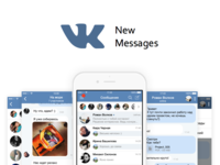 VK App - Redesign messages