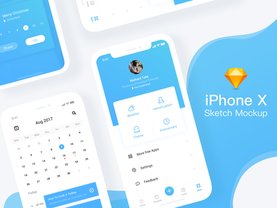 iPhone X Sketch mockup mockup sketch free gummy freebie light iphone x screen ios11 illustrations icons