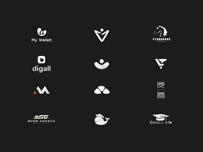 Logofolio logos branding graphic logo  logofolio vis vi app icon